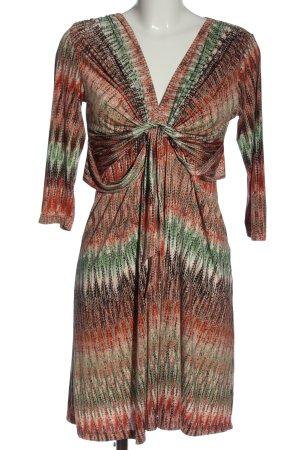 Ilse jacobsen Longsleeve Dress abstract pattern casual look