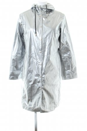 Ilse jacobsen Raincoat silver-colored casual look