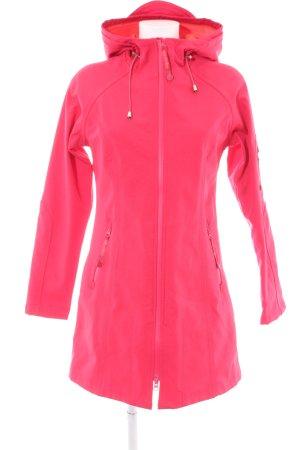 Ilse jacobsen Zware regenjas roze casual uitstraling