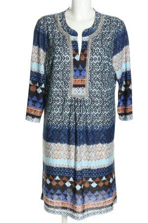 Ilse jacobsen Sukienka tunika Abstrakcyjny wzór W stylu casual