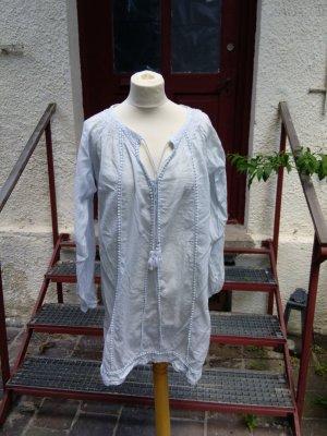 Ilse jacobsen Tunic pale blue cotton