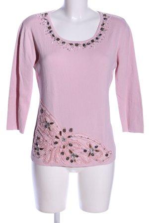 Imagini Rundhalspullover pink Casual-Look