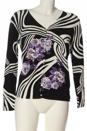 Imagini Knitted Cardigan abstract pattern casual look