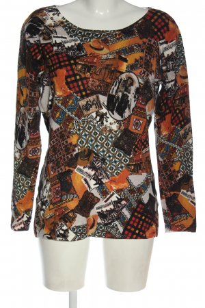 Imagini Knitted Sweater abstract pattern casual look