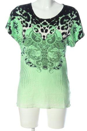 Imagini Strickshirt abstraktes Muster Casual-Look