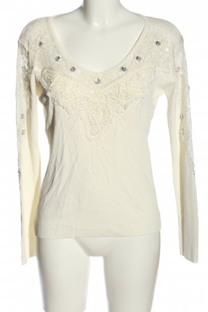 Imagini Knitted Jumper natural white casual look
