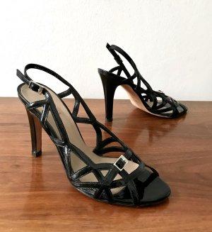 IMAN ◉ Schicke Lackleder Riemchen Sandaletten ◉