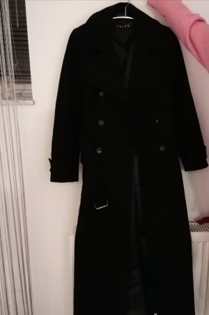 imitz Gabardina tipo vestido negro