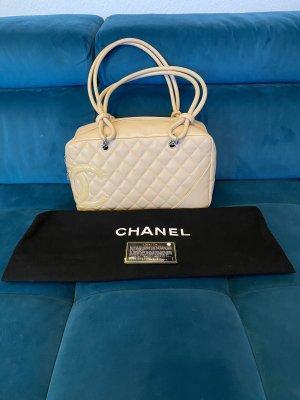 Chanel Carry Bag beige