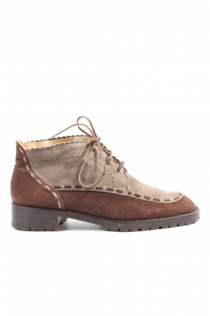 Immagini Lace-up Booties brown-natural white