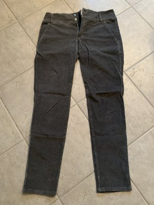 Pantalone di velluto a coste grigio