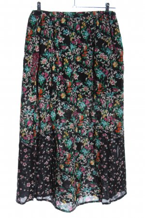 Imogene Falda larga estampado floral elegante