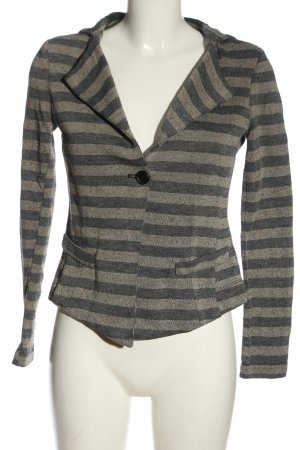 IMP Deluxe Coarse Knitted Jacket light grey-cream allover print casual look