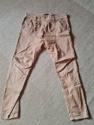 Imperial Spodnie typu boyfriend brzoskwiniowy