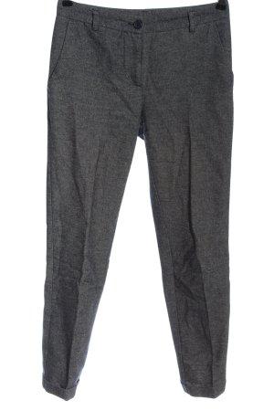Imperial Pantalon 7/8 gris clair moucheté style classique