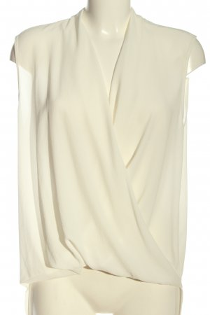 Imperial Blusa senza maniche bianco sporco elegante