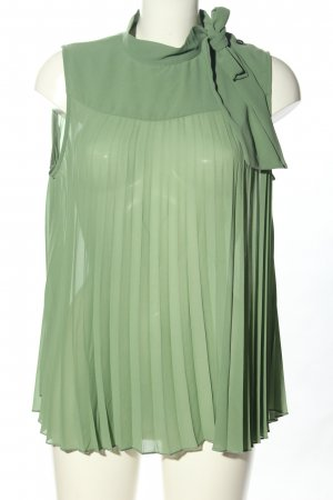 Imperial Sleeveless Blouse green business style
