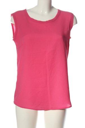 Imperial Blusa senza maniche rosa elegante