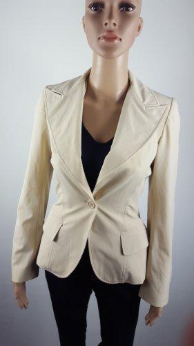 Imperial Blazer Jacke Anzugjacke cremefarben Größe S figurbetont wie NEU