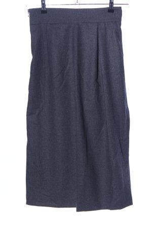 Imperial Faltenrock blau meliert Casual-Look