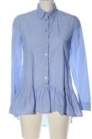 Imperial Hemd-Bluse blau Webmuster Business-Look