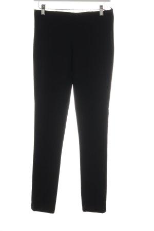 Imperial High-Waist Hose schwarz schlichter Stil