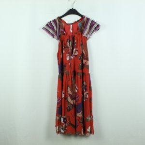 Imperial Kleid Gr. S rot geblümt (20/07/019*)