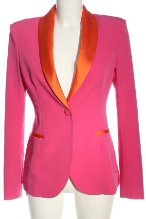Imperial Blazer corto rosa-arancione chiaro