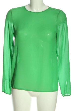 Imperial Camicetta a maniche lunghe verde elegante