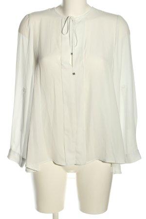 Imperial Langarm-Bluse weiß klassischer Stil