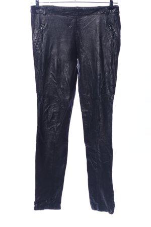 Imperial Lederhose schwarz Casual-Look