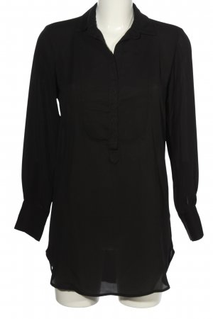 Imperial Long-Bluse schwarz Casual-Look
