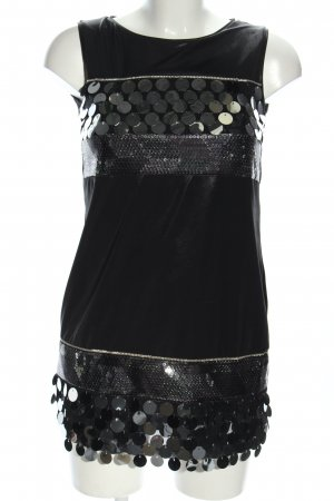 Imperial Mini Dress black glittery
