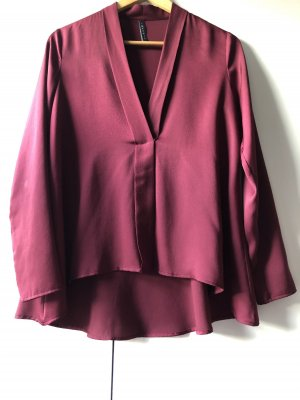 Imperial V-hals shirt bordeaux
