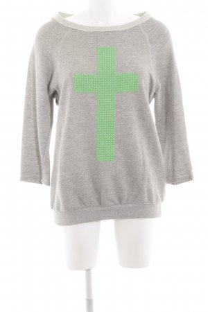 Imperial Oversized Pullover grau-grün Casual-Look