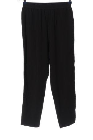 Imperial Sporthose schwarz-silberfarben Streifenmuster Casual-Look