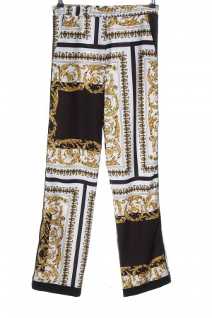 Imperial Stoffhose Allover-Druck Casual-Look