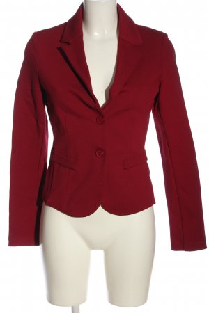 Imperial Knitted Blazer red business style