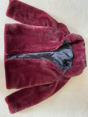 Imperial Fake Fur Jacket bordeaux