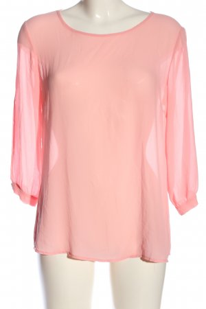 Imperial Transparenz-Bluse pink Casual-Look