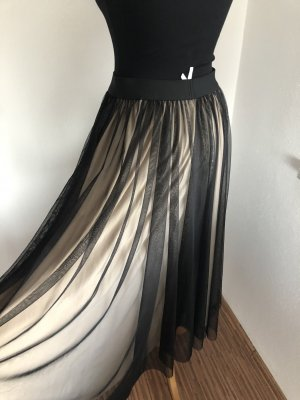 Imperial Tulle Skirt black-cream