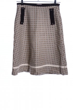 Imperial Wool Skirt graphic pattern casual look