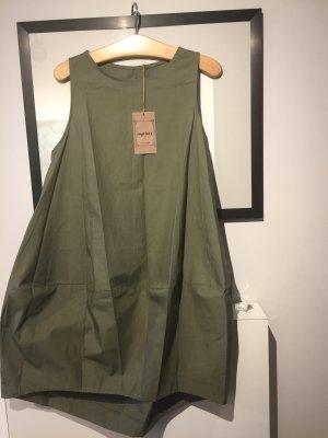 0039 Italy vestido de globo caqui