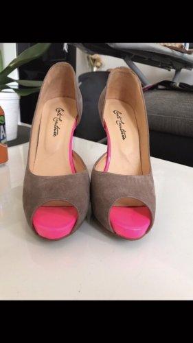 Cute Couture High Heels beige