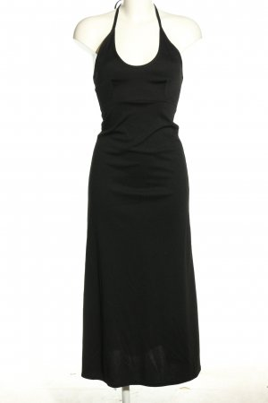 Impuls Halter Dress black casual look