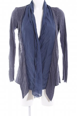 In Linea Cardigan grau-dunkelblau Casual-Look