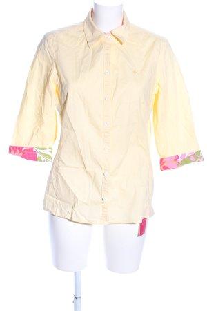 In Linea Hemd-Bluse Blumenmuster Casual-Look