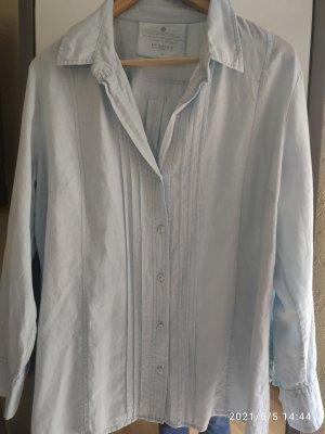In Linea Lniana bluzka jasnoniebieski