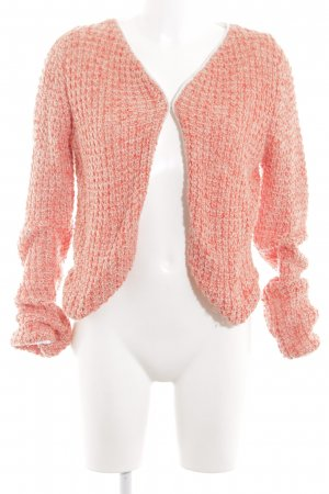 In Linea Strickjacke pink meliert Vintage-Look