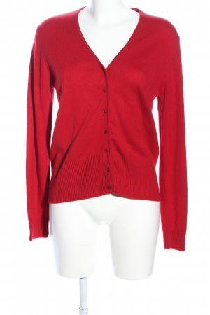 In Linea Strickjacke rot Casual-Look